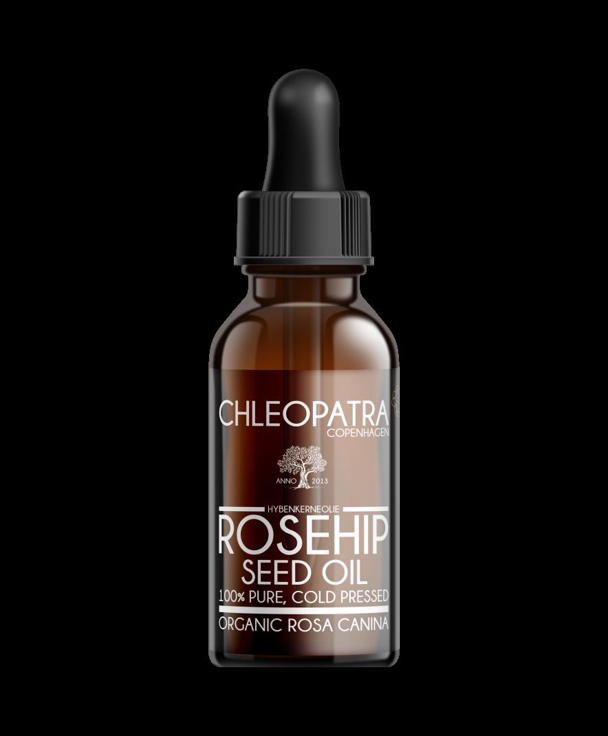 hybenkerneolie - rosehip seed oil - økologisk - 30ml