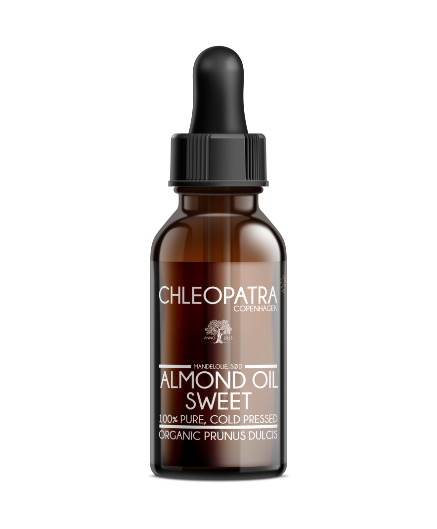 mandelolie - almond oil, sweet - økologisk - 100ml