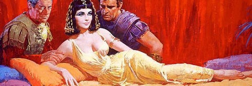 Cleopatra 1963 - plakat fra filmen