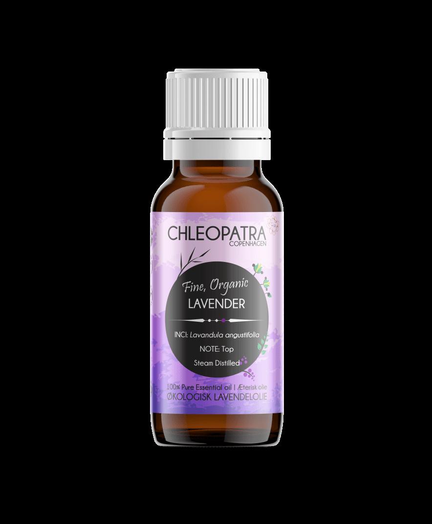 chleopatra lavendelolie lavendar oil æterisk olie økologisk 10ml