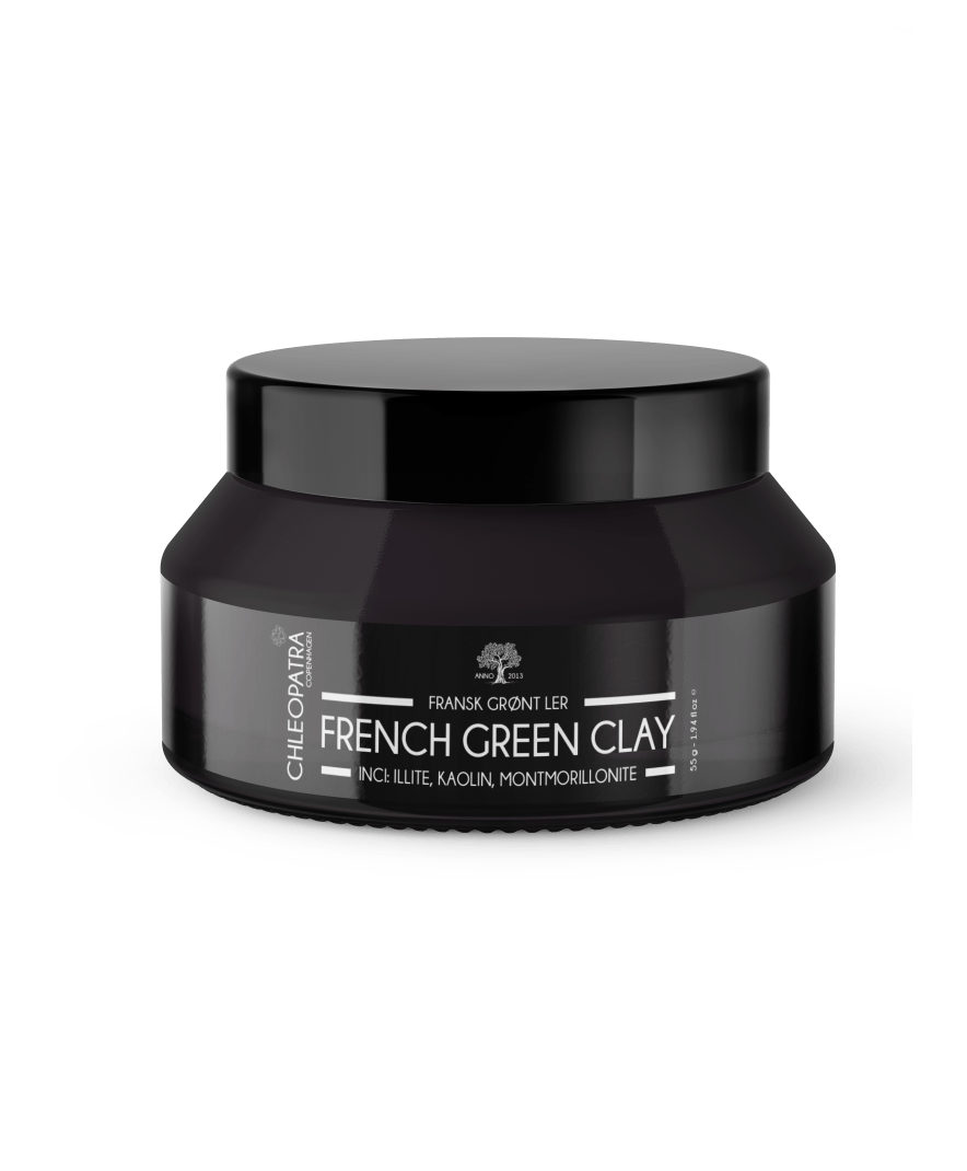 chleopatra fransk grønt ler french green clay 55g