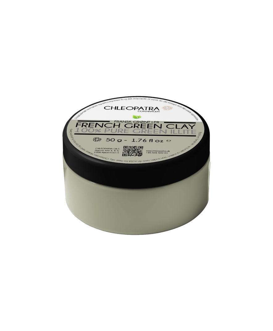 Image of   Fransk grønt ler 50 g