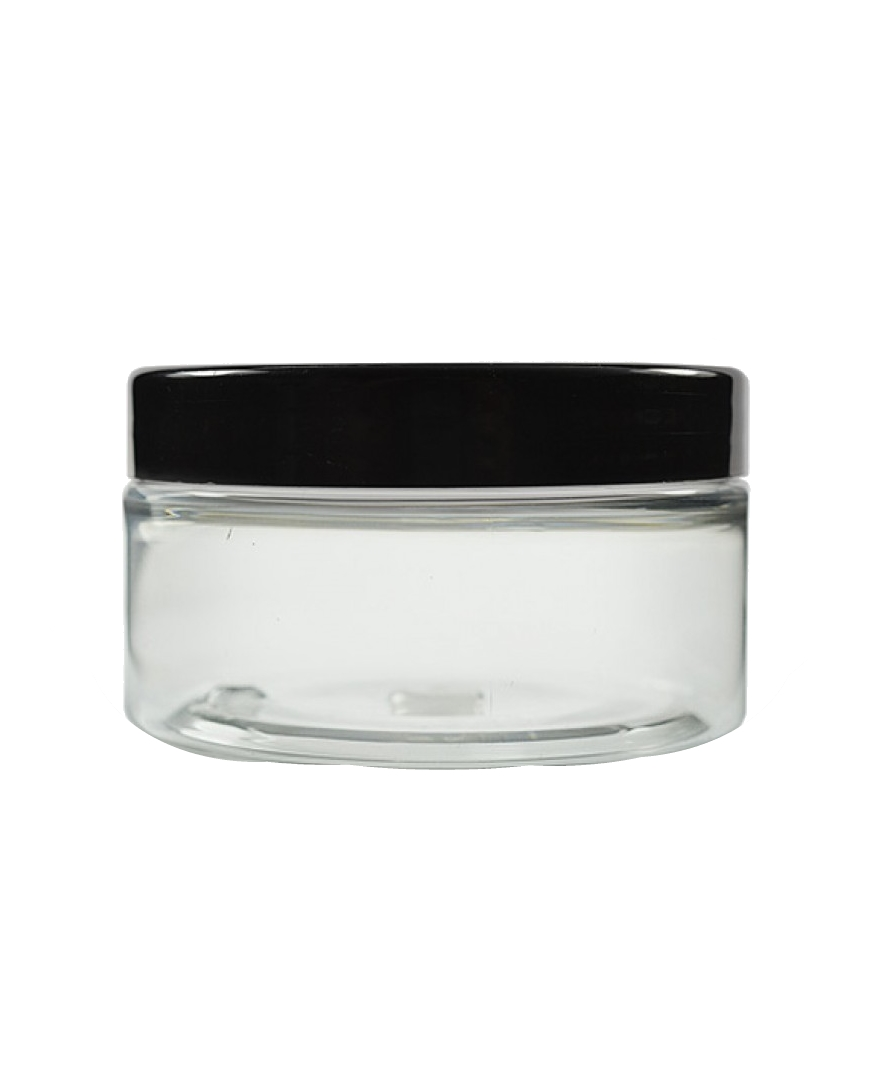 Image of   100ml klar plastikbøtte med skruelåg