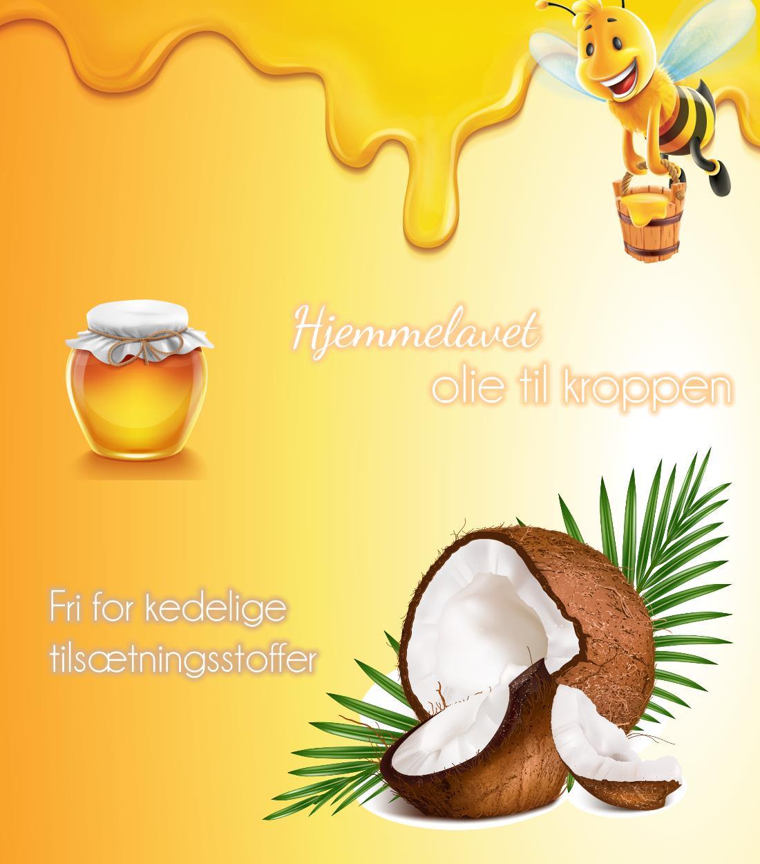 Image of   Bundle - Hjemmelavet kropsolie opskrift: #1