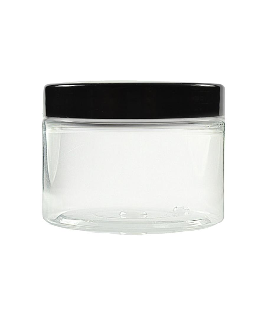 Image of   150ml klar plastikbøtte med skruelåg