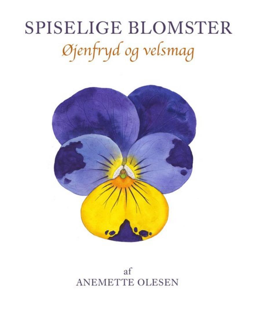 bog cover - spiselige blomster af Anemette Olesen (9788791583223)