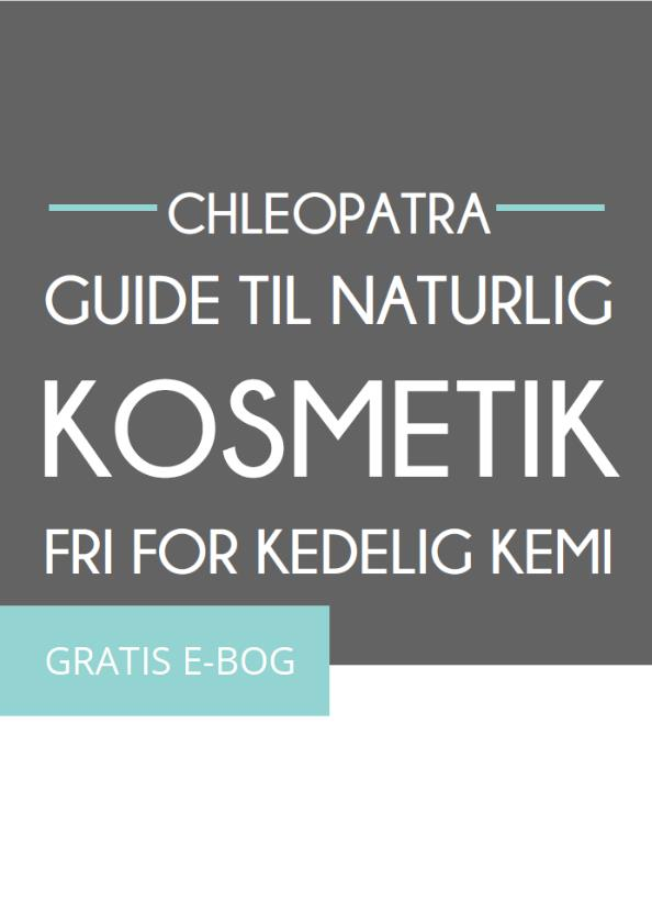 guide til naturlig kosmetik fri for kedelig kemi - cover