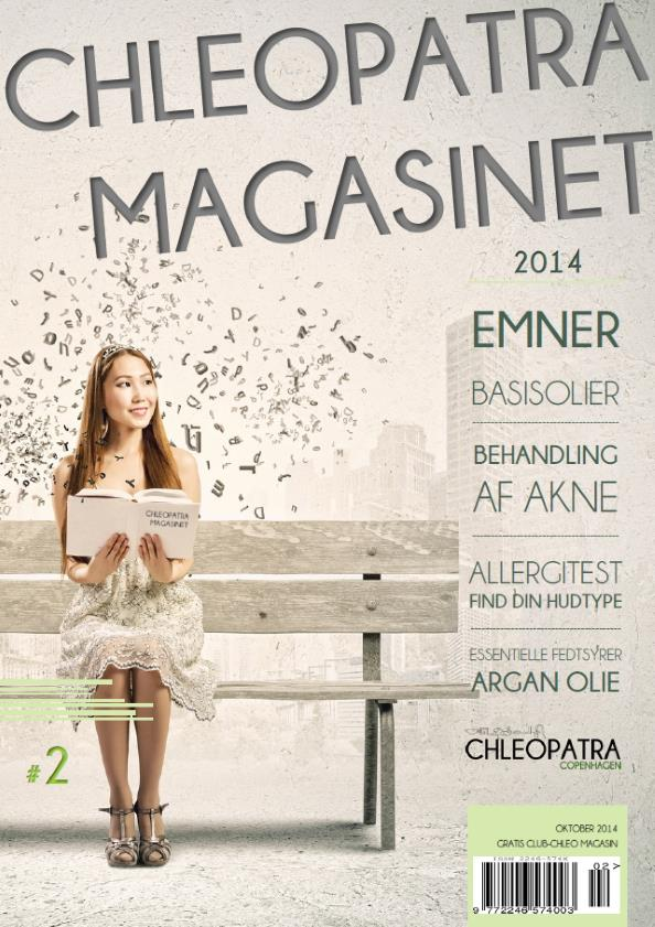 chleopatra magasinet #2 cover