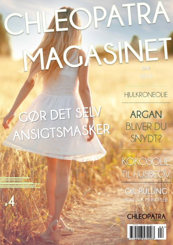 bog cover - chleopatra magasinet #4