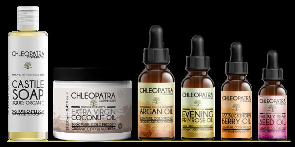 produkt lineup fra chleopatra