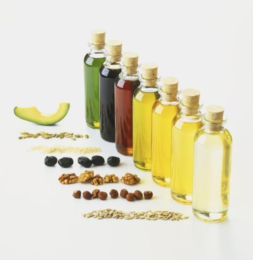 forskel på olier - forskellige olier, farve, aroma, konsistens