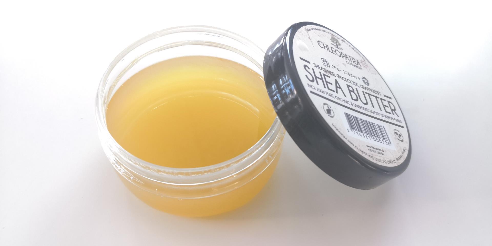 Hjemmelavet body lotion - Med Sheasmør og 2 andre naturlige råvarer 1