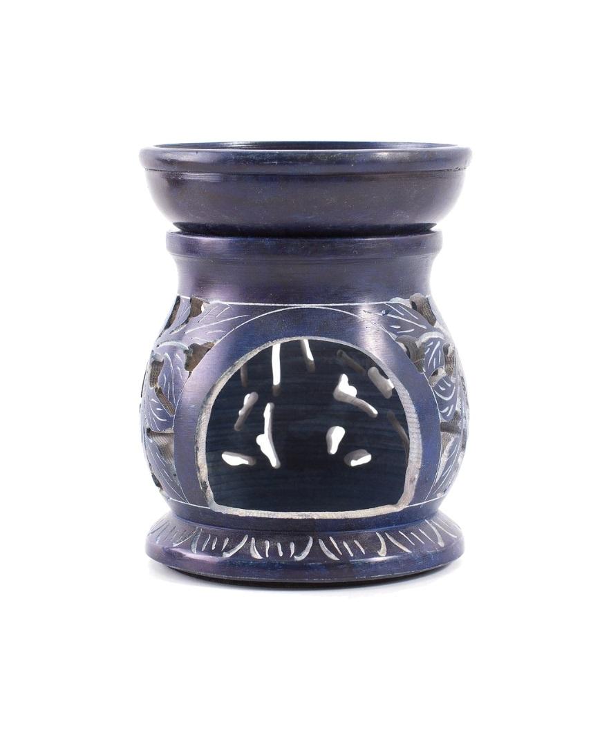 blå duftlampe fra chleopatra