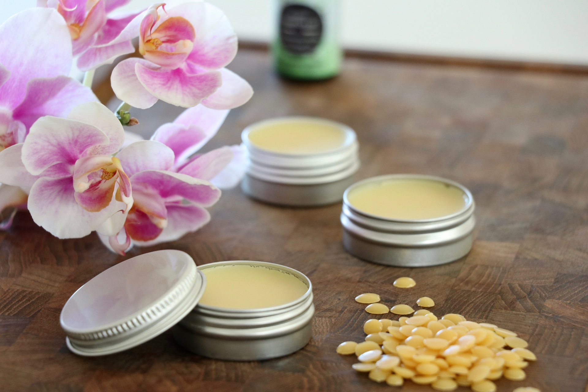 hjemmelavet læbepomade