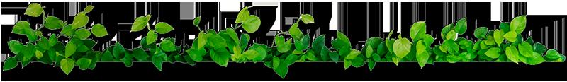 naturlige blade ramme