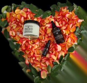 chleopatra valentinspakke kærlighedspakke