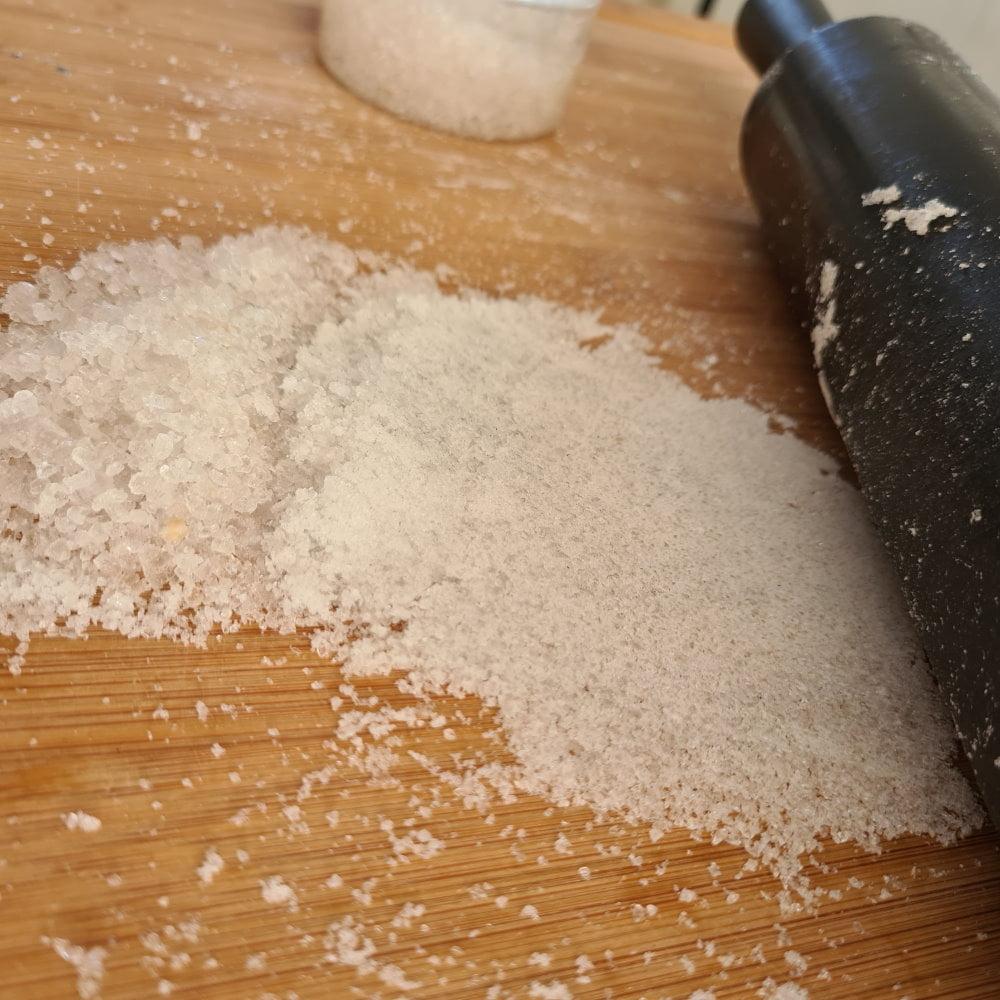 saltskrubbe finere salt