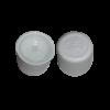 hvid sikkerhedslåg 18 mm flasker din 18